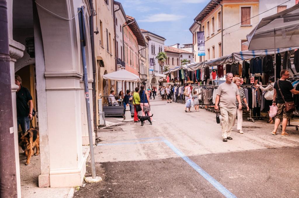Portugruaro Bibione Markt