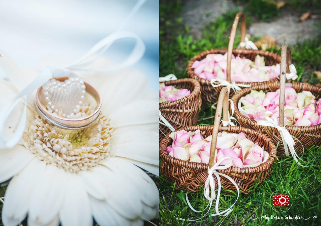 Blumenmädchen und Ringkissen in Meißen
