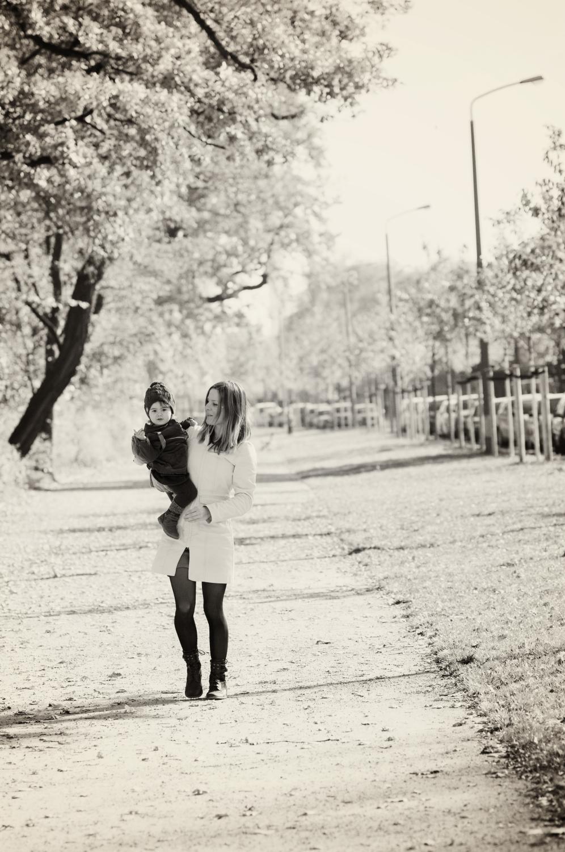 Mutter Tochter Shooting – Träumerin mit Kamera