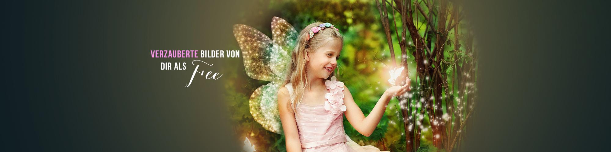 Fee für einen Tag - Fotoshooting für kleine Mädchen