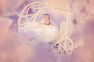 Digitaler Fotohintergrund mit Baby