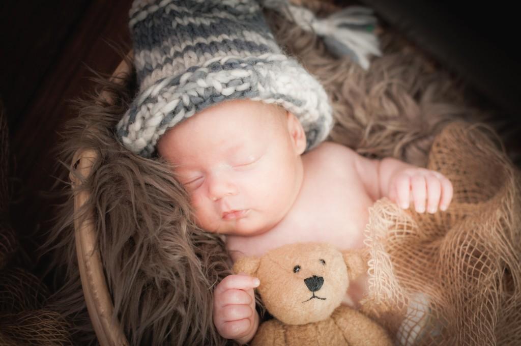 Baby 6 Wochen Fotoshooting Dresden