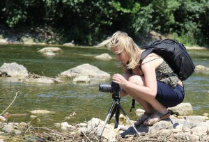 Der Fotorucksack ist essentiell für mich und meinen Rücken ;-)