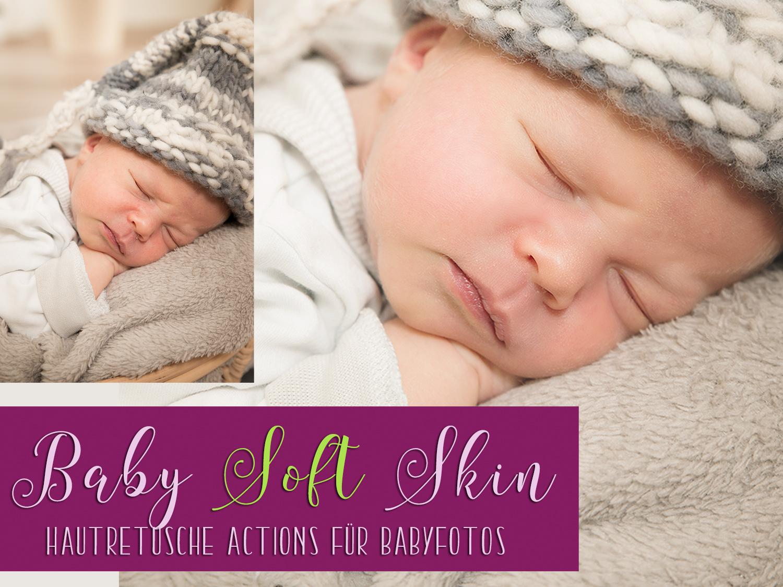 Baby Soft Skin Actions für hochwertige Hautretusche von Babyfotos