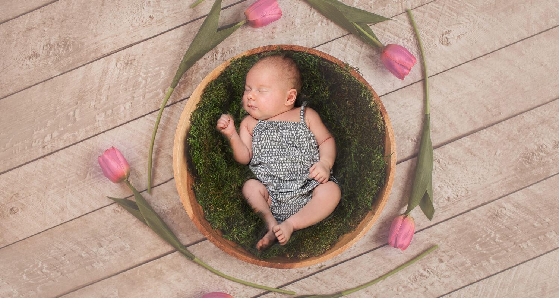 Babyfotografie als Kunstwerk Dresden