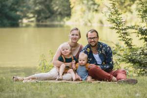 Family Familien Shooting in Dresden Draußen