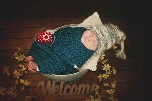 Babyfotos nach der Geburt Dresden